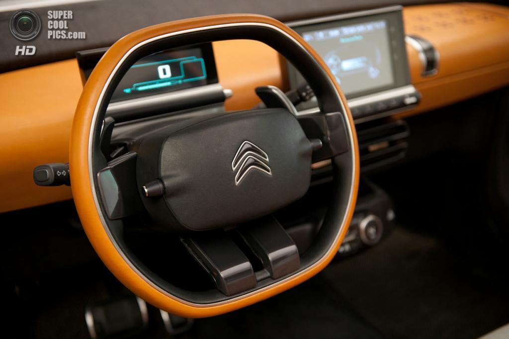 Citroën Cactus Concept. (PSA Peugeot Citroën)