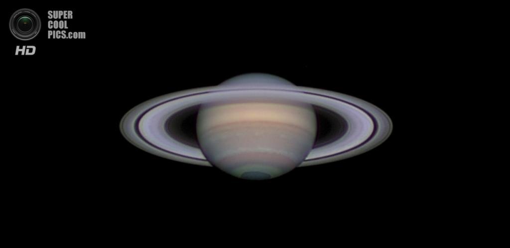 «Сатурн в противостоянии». Призёр в номинации «Наша Солнечная система». (Damian Peach/Astronomy Photographer of the Year)