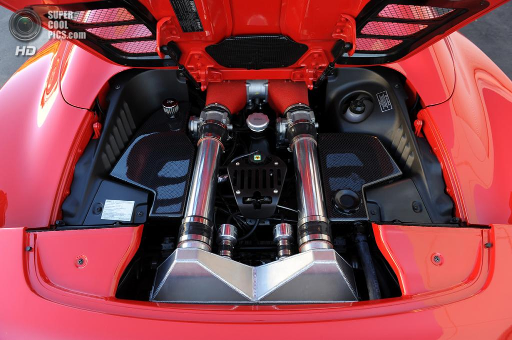 Hennessey HPE700 Twin Turbo 458. (Hennessey Performance)