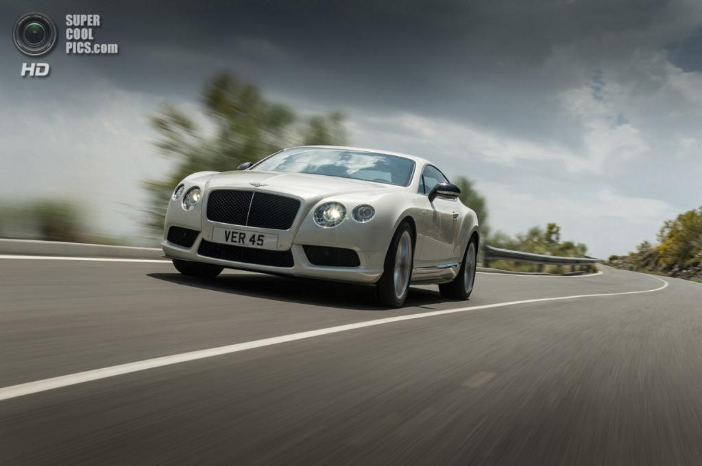Bentley Continental GT V8 S. (Bentley Motors)