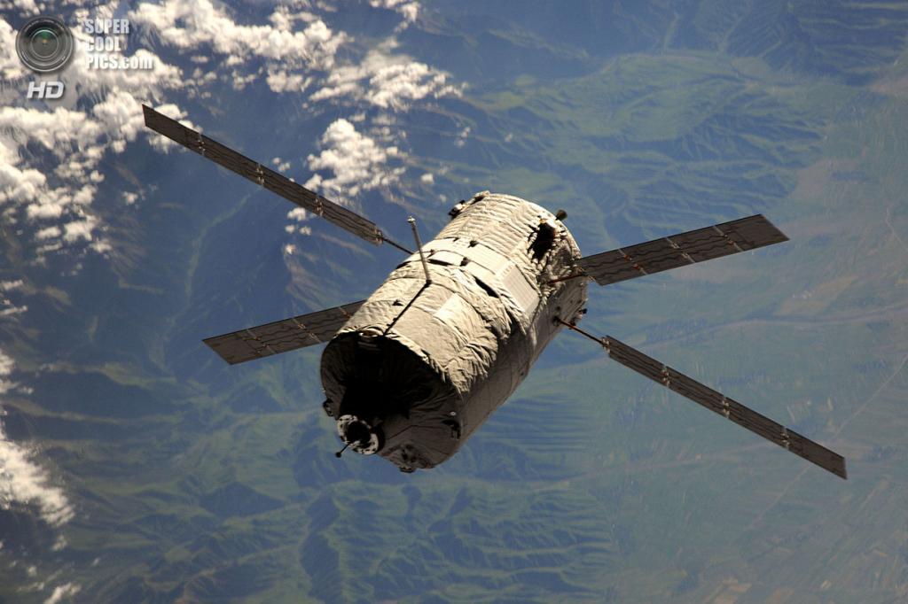 Космический корабль ATV-4 «Альберт Эйнштейн». (NASA)