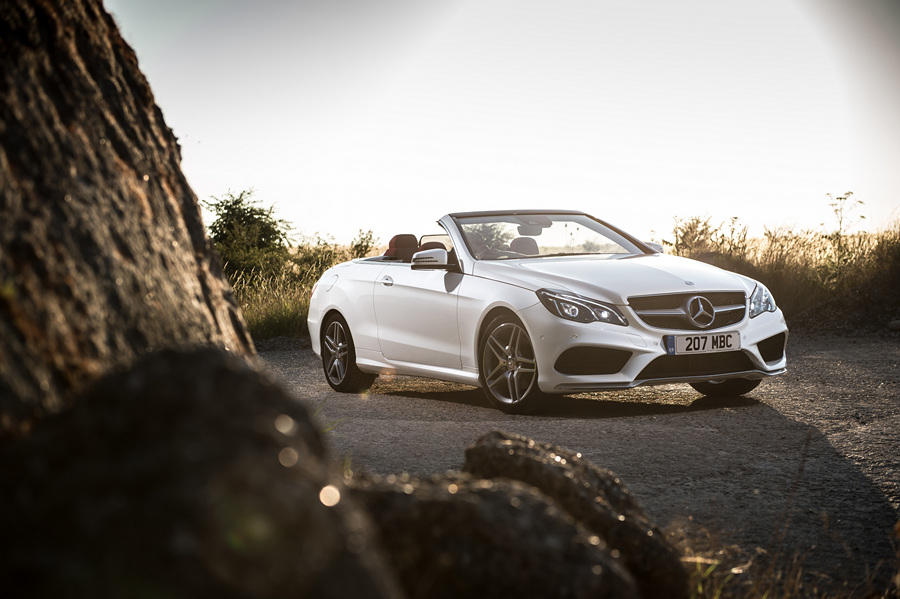 Кабриолет Mercedes-Benz E350 (25 фото)