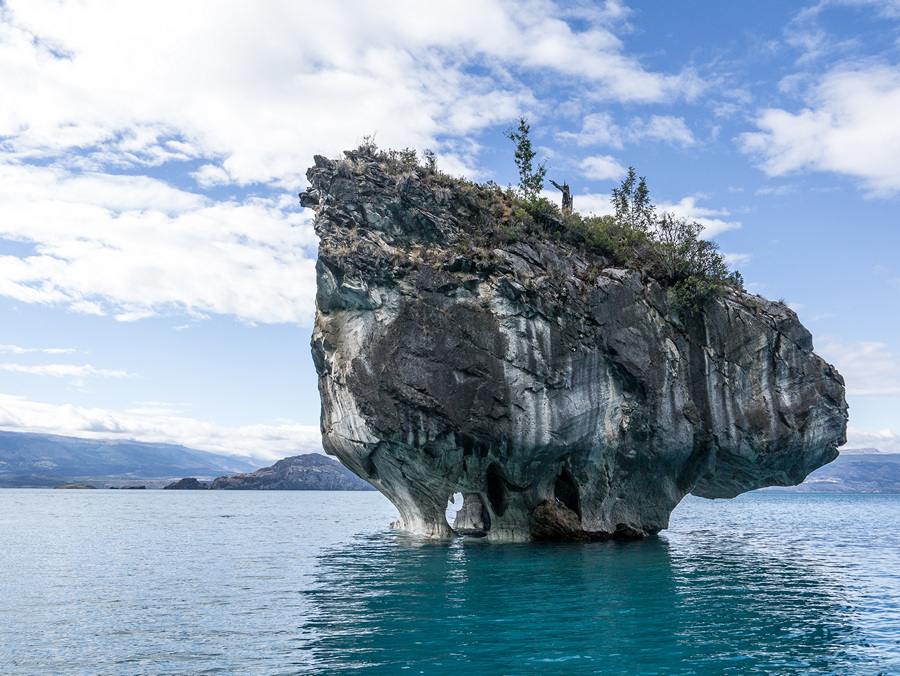 Мраморные пещеры озера Буэнос-Айрес (15 фото)