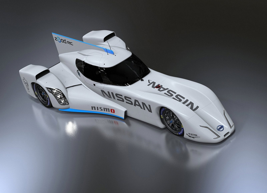 Гоночный электромобиль от Nissan (7 фото + 5 видео)