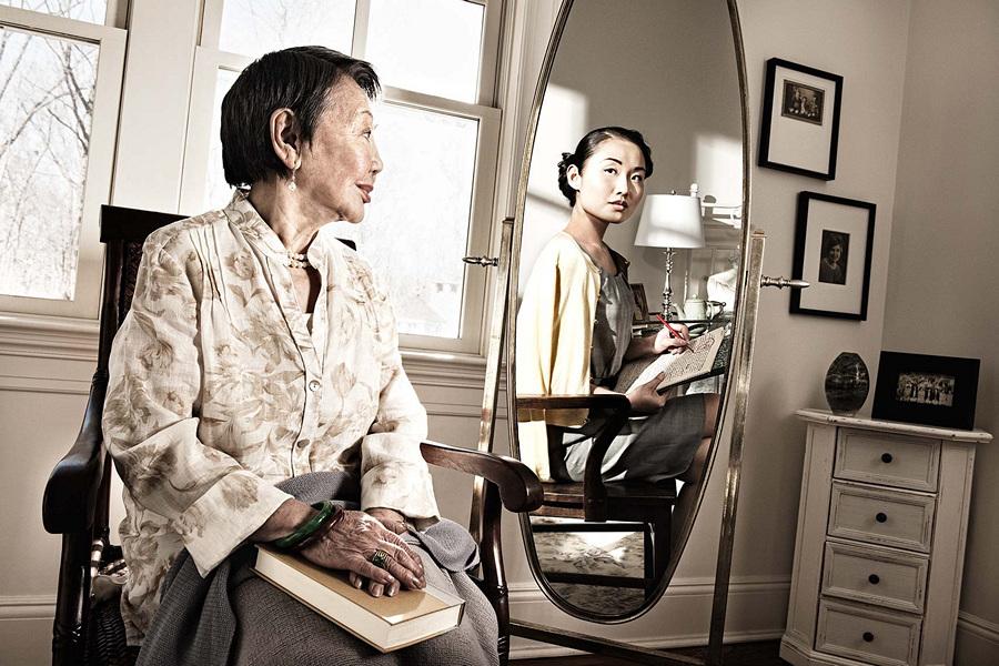 Отражение молодости (9 фото)