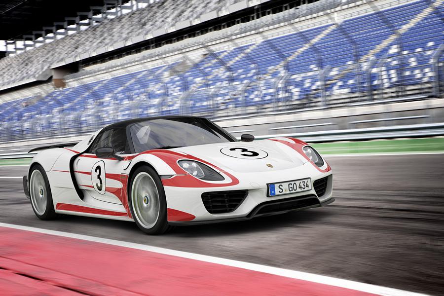 Porsche 918 Spyder с пакетом «Вайсах» — самый быстрый (4 фото)