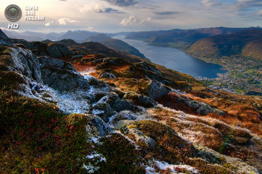 Осенние заморозки. (Asbjørn Floden)