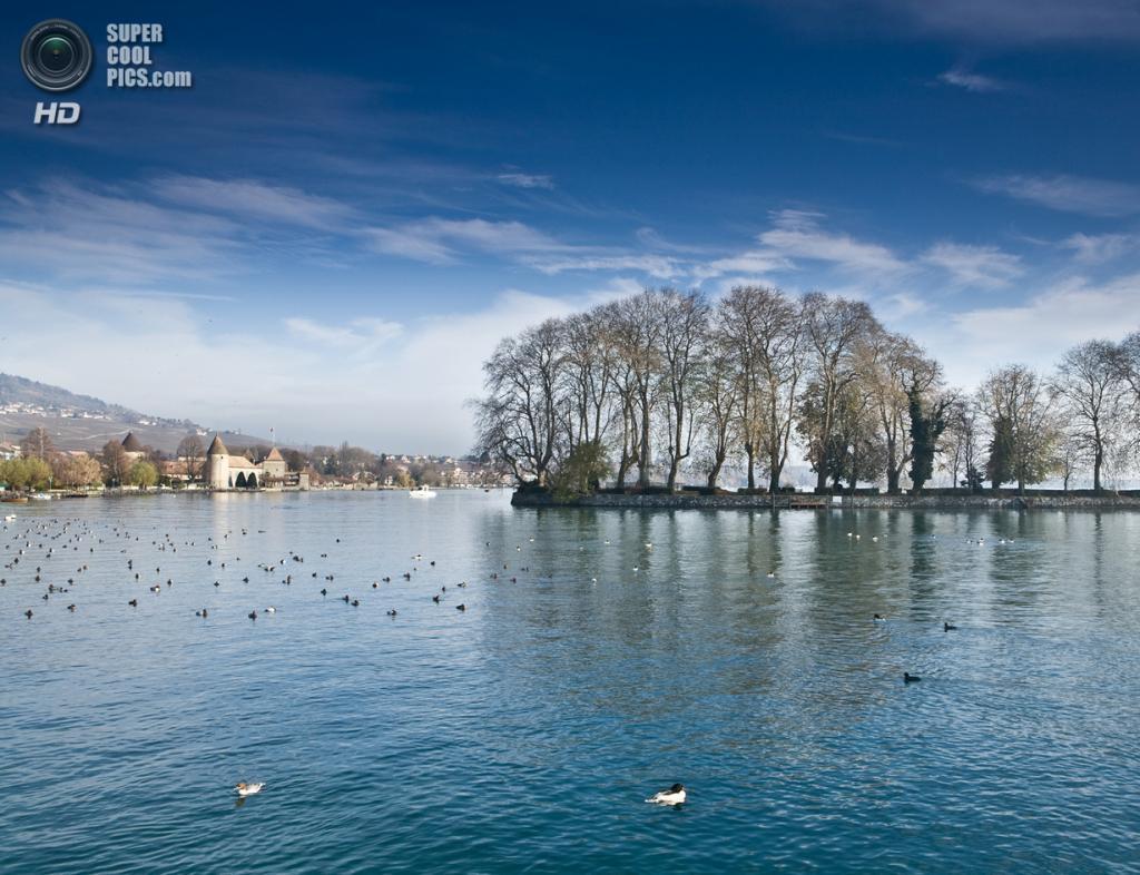 Швейцария. Женевское озеро. (Hongliang Liu)