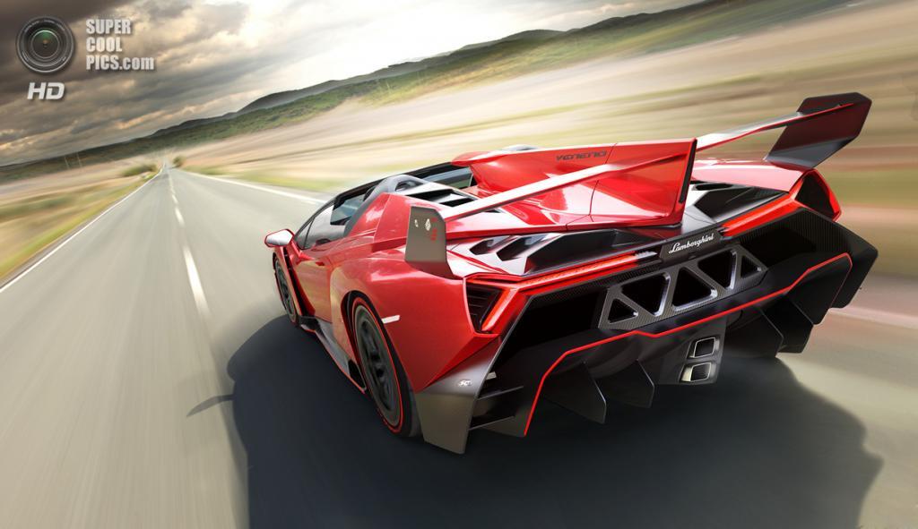 Lamborghini Veneno Roadster. (Lamborghini)