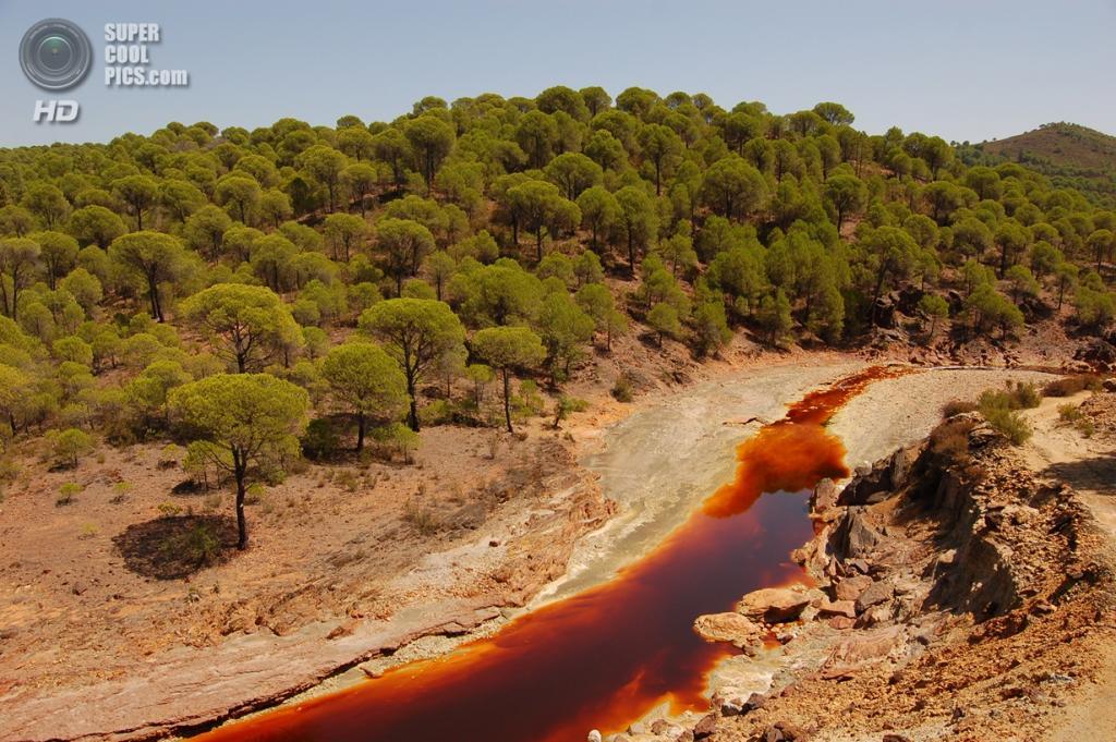 Испания. Андалусия. Река Тинто. (Malaquita)