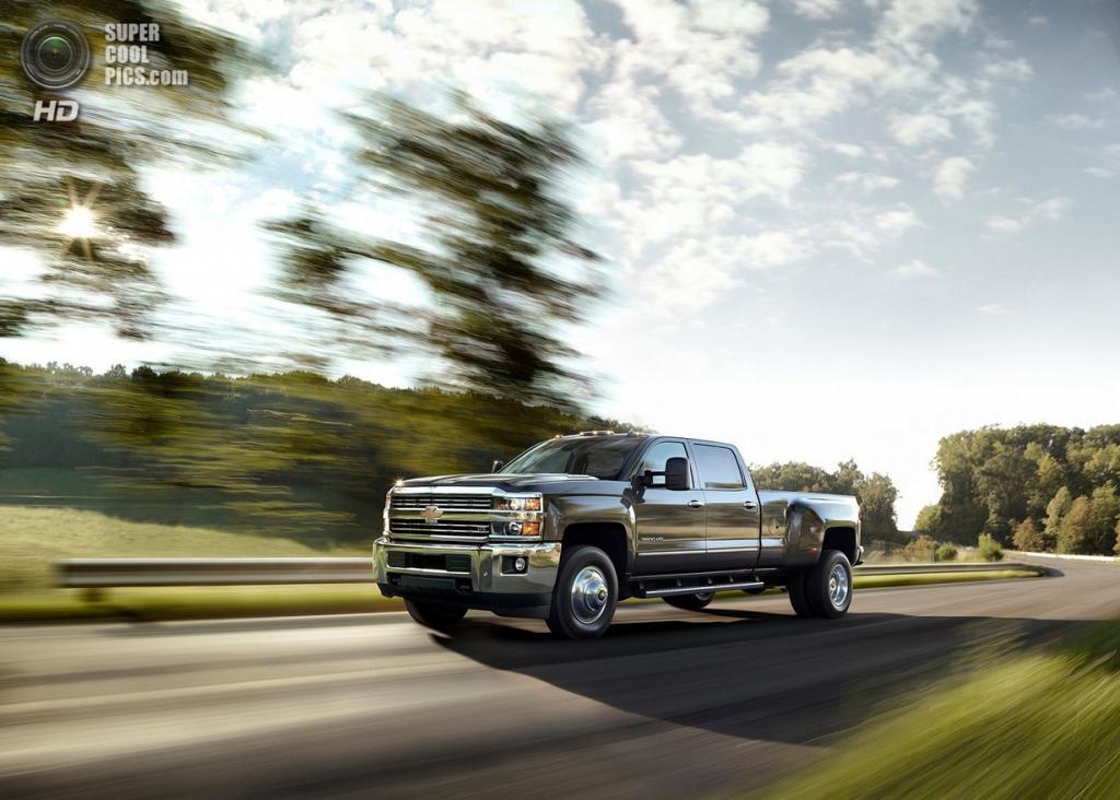 Chevrolet Silverado HD. (General Motors)