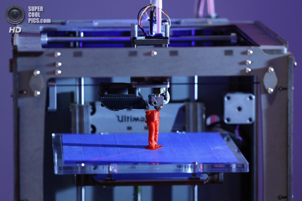 Великобритания. Лондон. 8 октября. На выставке «3D: Printing the Future» в Музее науки. (Oli Scarff/Getty Images)