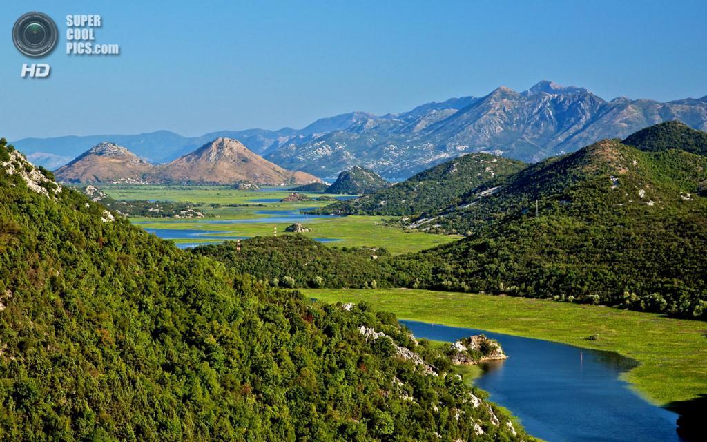Черногория. Скадарское озеро. (Europe Trotter)