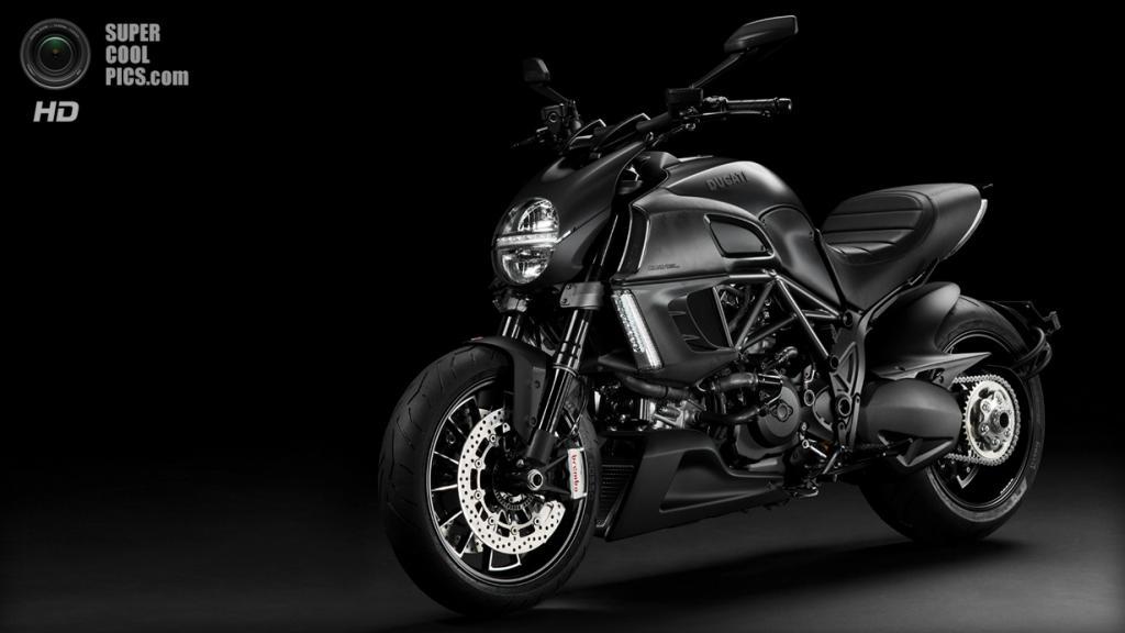 Ducati Diavel Dark. (Ducati)