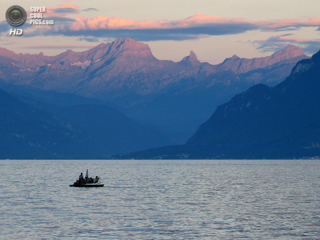Швейцария. Женевское озеро. (Laurie Wilson)