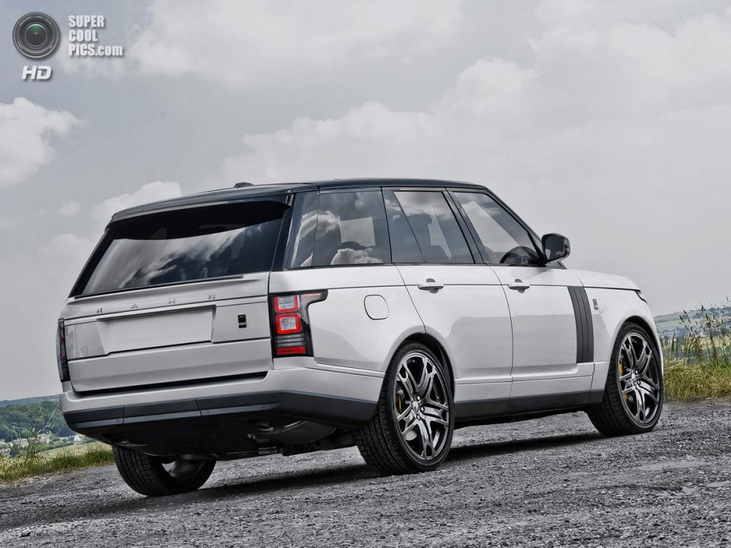 Range Rover Vogue Signature Edition. (Kahn Design)