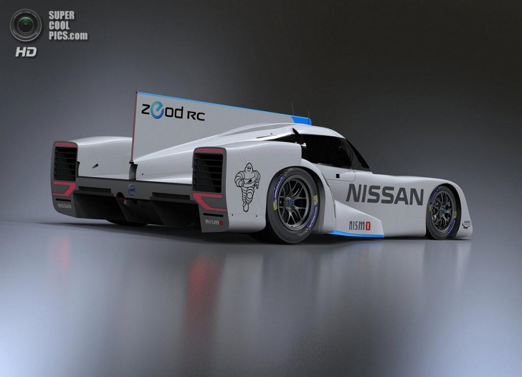 Nissan ZEOD RC. (Nissan)
