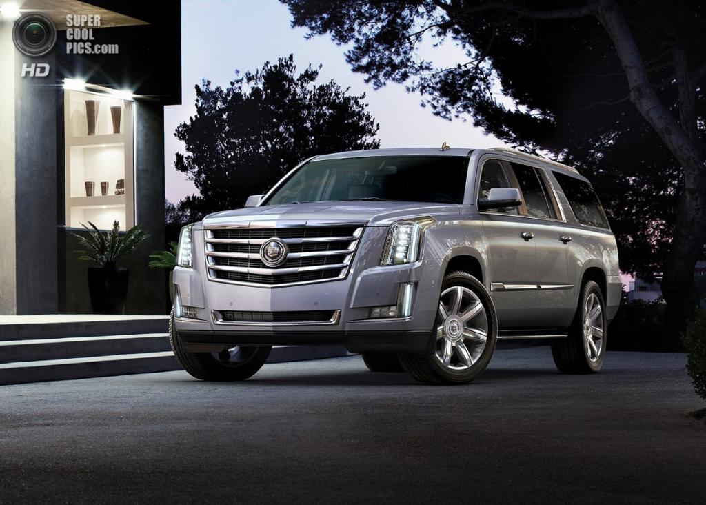 Cadillac Escalade. (General Motors)