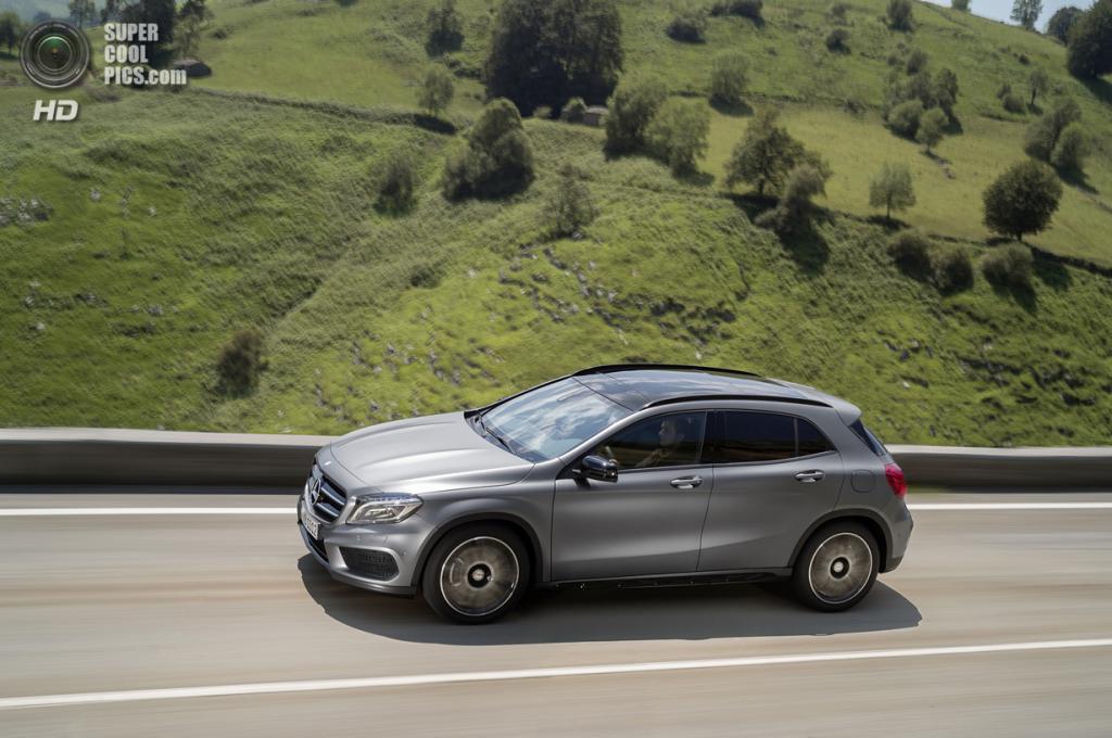 Mercedes-Benz GLA. (Daimler AG)