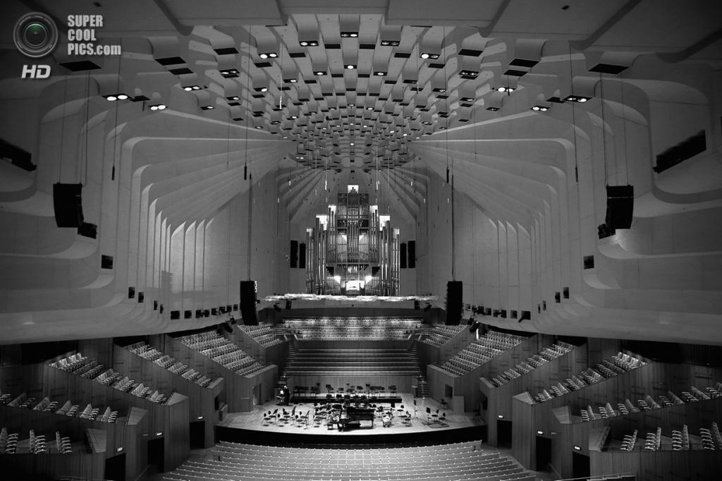 Австралия. Сидней. Внутри Сиднейского оперного театра. (Cameron Spencer/Getty Images)