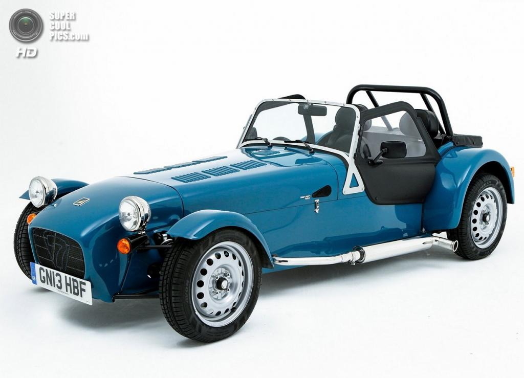 Caterham Seven 160. (Caterham Cars)