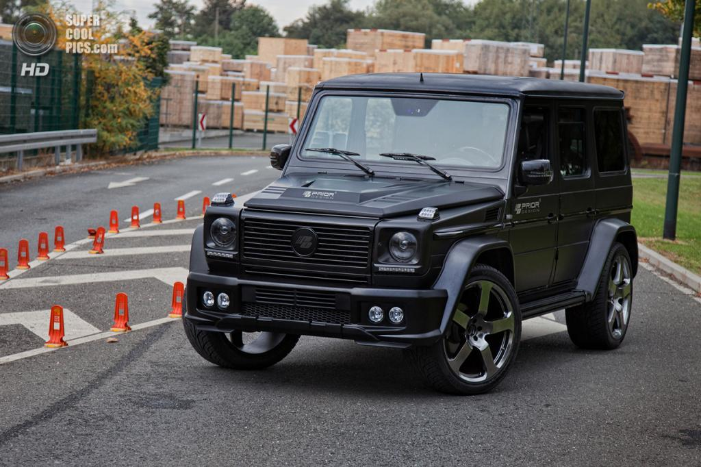 Mercedes-Benz G-Class W463. (Prior Design)