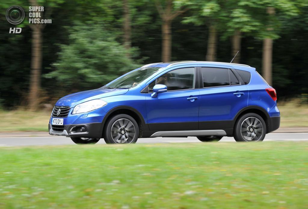 Suzuki SX4 S-Cross. (Suzuki)