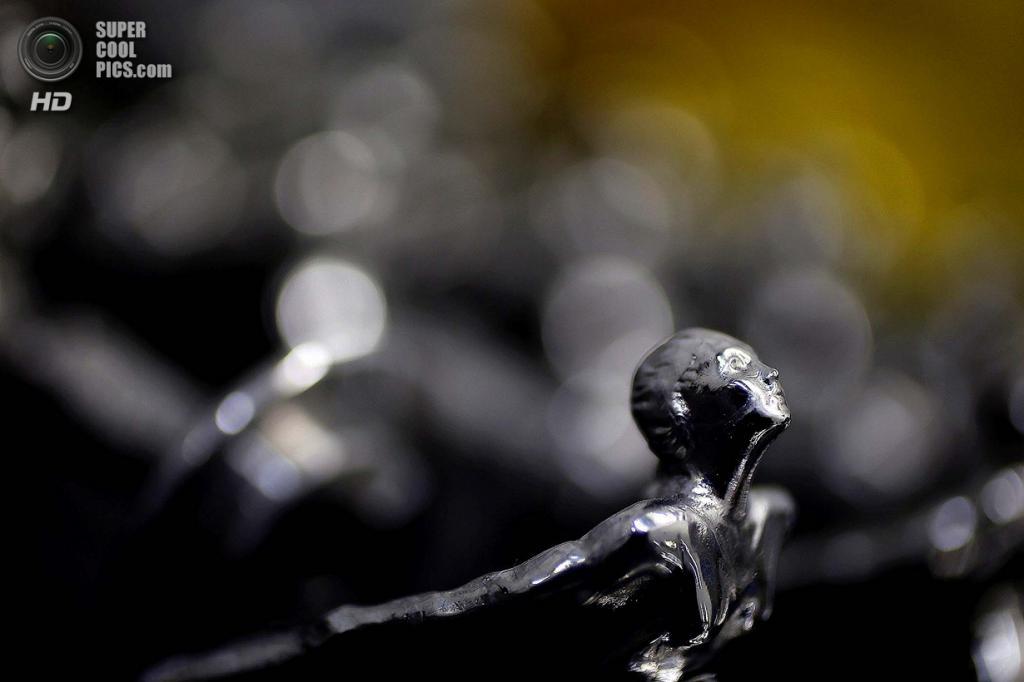 Великобритания. Саутгемптон, Англия. Готовые статуэтки «Дух Экстаза» для автомобилей марки Rolls-Royce на заводе Polycast Limited. (REUTERS/Stefan Wermuth)