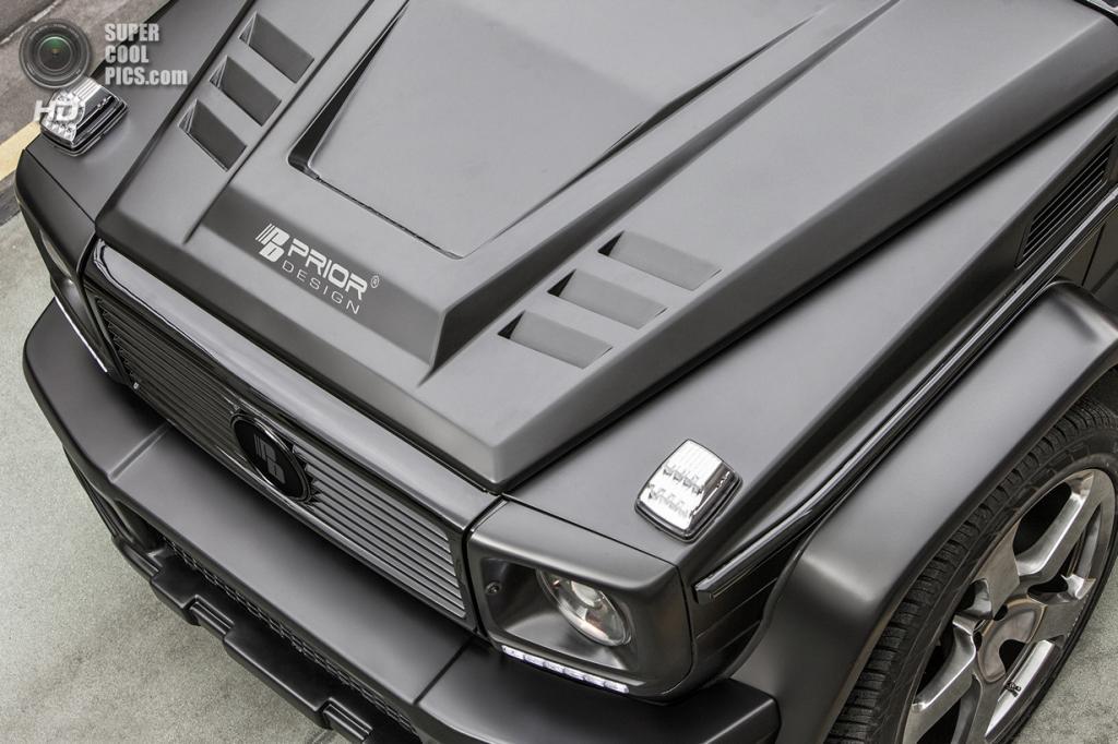 Mercedes-Benz G-Class W463. (Prior Design)