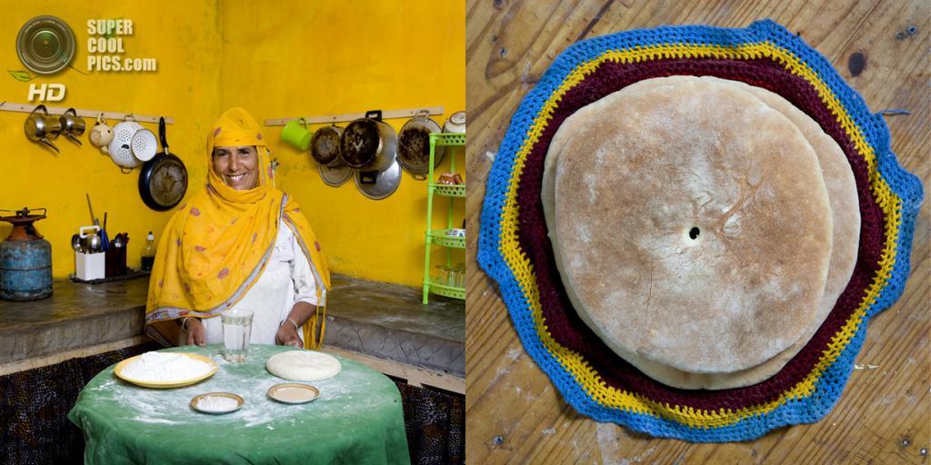 Марокко. Aghrimz. Блюдо: Хлеб «Бат-бот». (Gabriele Galimberti)