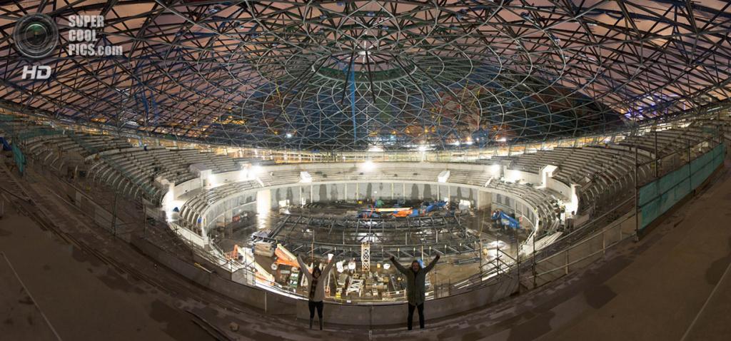 Великобритания. Глазго, Шотландия. Концертный комплекс SSE Hydro. (Bradley Garrett)