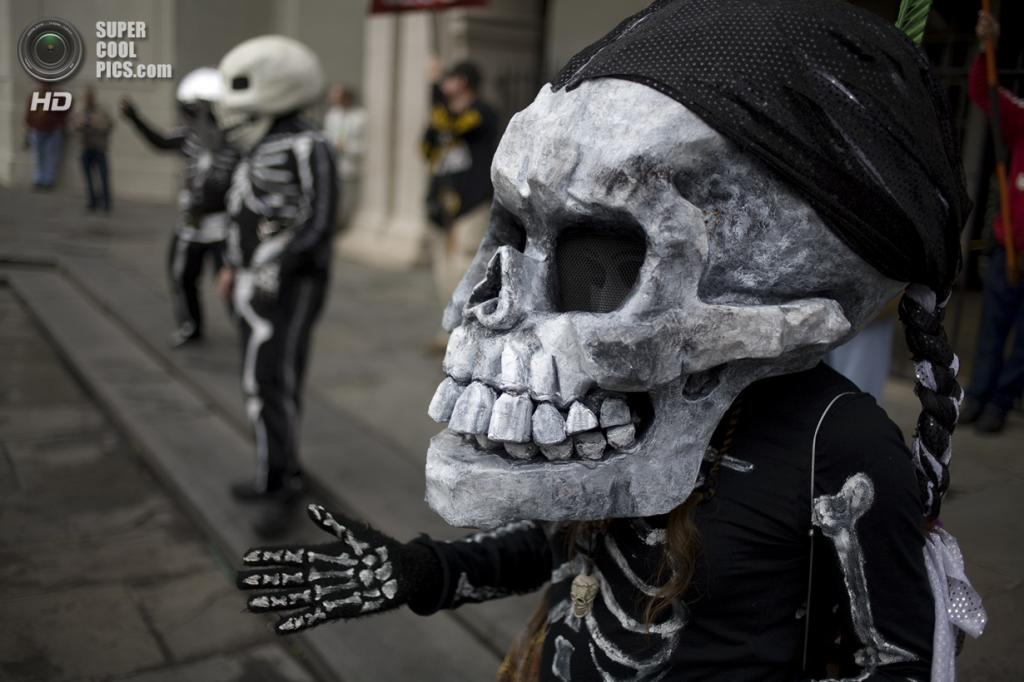 The Skeleton Krewe 2013. (Kevin O'Mara)