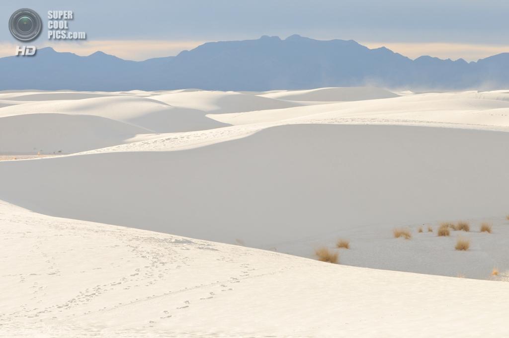 США. Нью-Мексико. Государственный заповедник Белые пески. (Roger Rittmaster)
