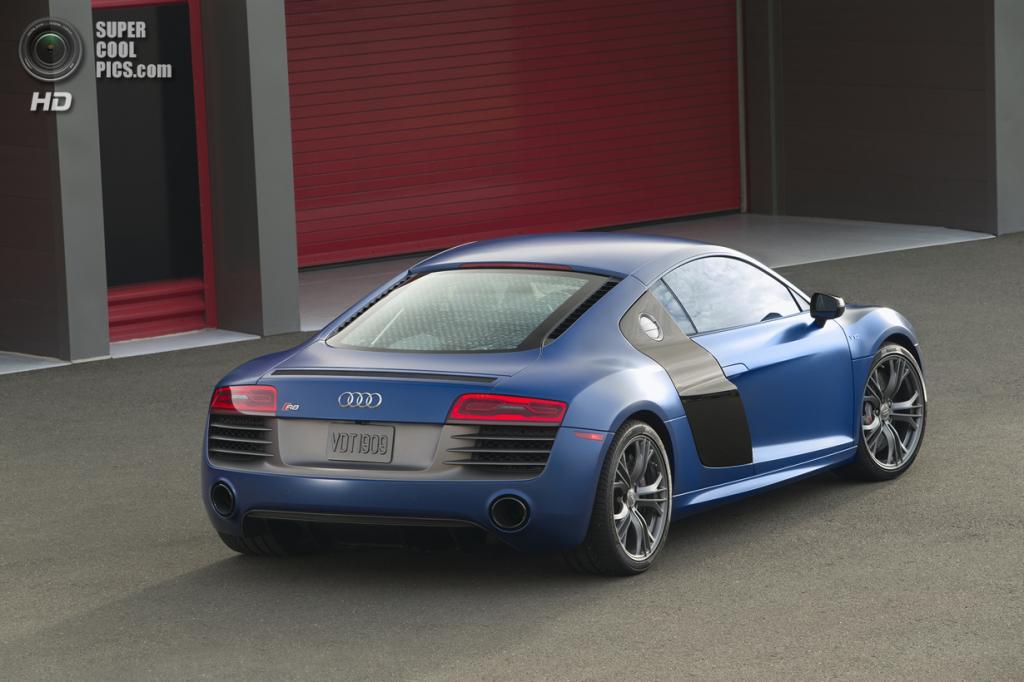 Audi R8 V10 plus Coupé. (Audi AG)