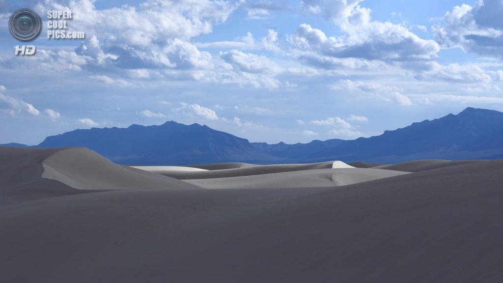 США. Нью-Мексико. Государственный заповедник Белые пески. (Jack Farnham)