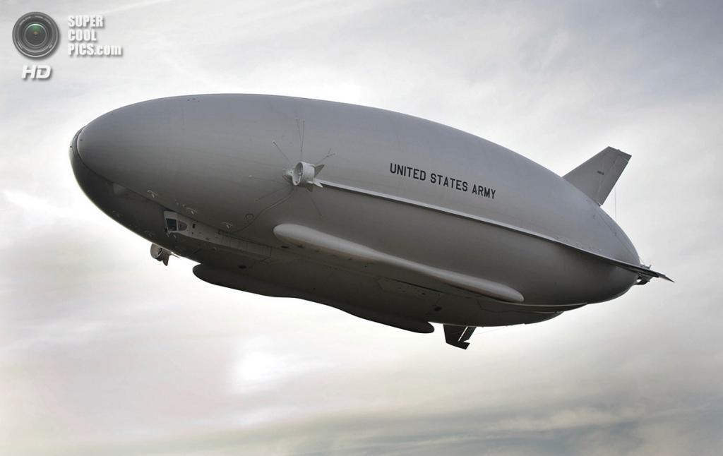 США. Нью-Джерси. 7 августа 2012 года. Дирижабль Long Endurance Multi-Intelligence Vehicle (LEMV). (U.S. Army/Jim Kendall)