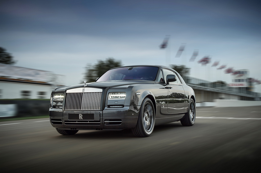 Rolls-Royce представила купе Chicane Phantom (7 фото)