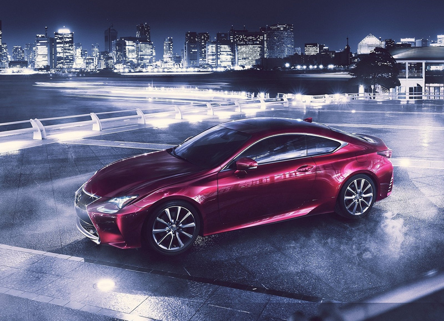 Lexus RC: Первая «токийская» новинка (5 фото)