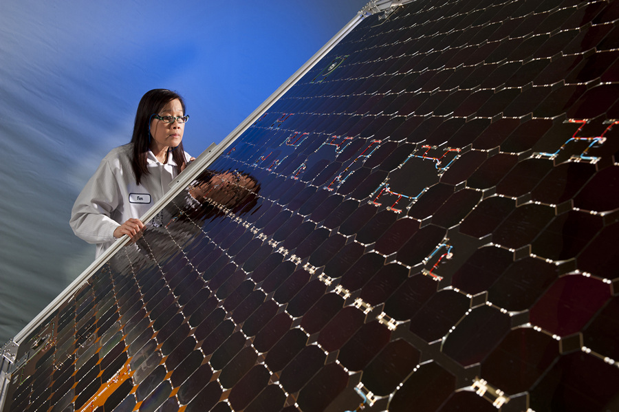 MAVEN solar panel