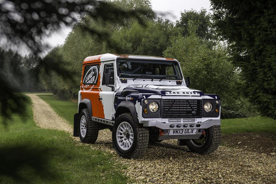 На основе Land Rover Defender появится раллийный кубок (16 фото)