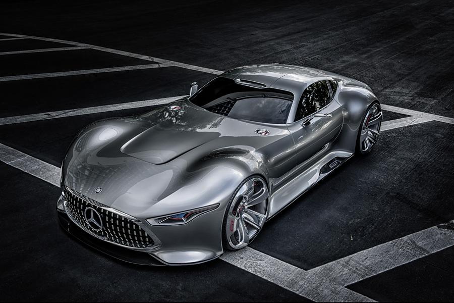 Mercedes-Benz Vision Gran Turismo Concept. (Daimler AG)