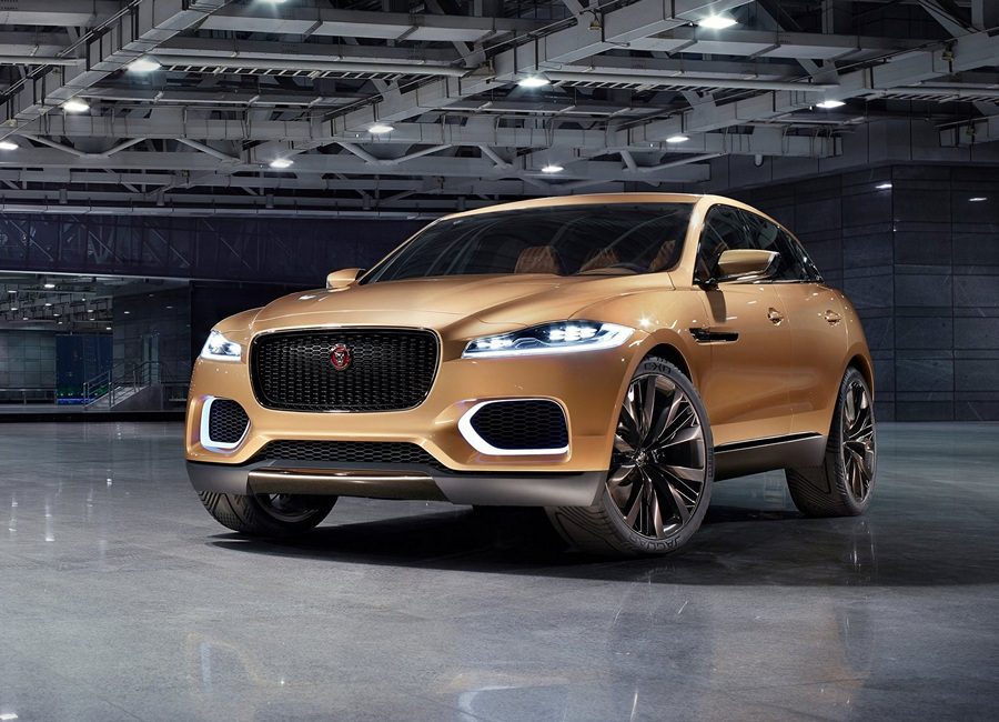 Первый кроссовер Jaguar: Роскошь во всём (25 фото)
