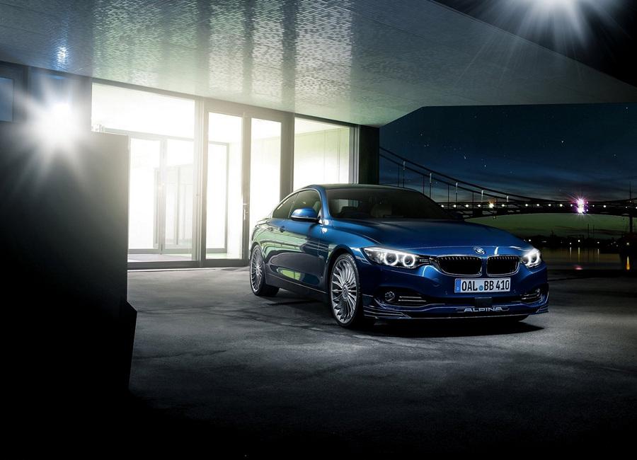 Alpina BMW B4 Bi-Turbo Coupé. (Alpina Burkard Bovensiepen GmbH)