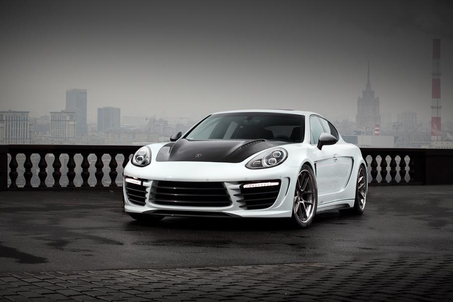 Россияне доработали Porsche Panamera (18 фото)
