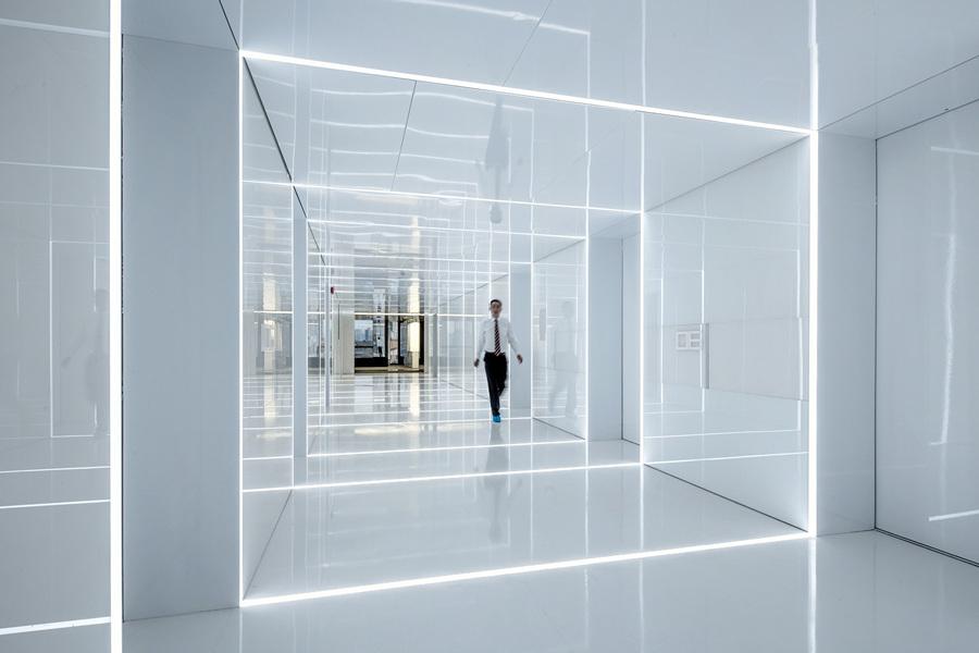 Китай. Шанхай. Штаб-квартира компании SOHO, спроектированная AIM Architecture. (Jerry Yin)