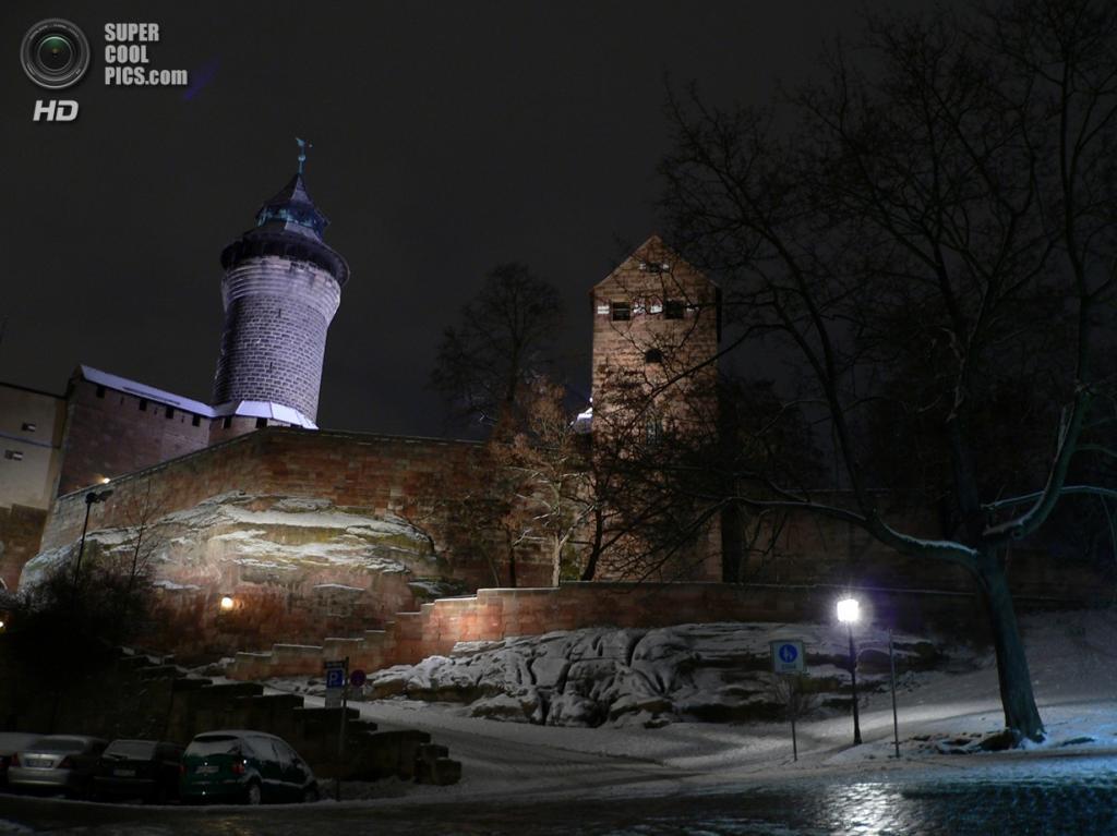 Германия. Нюрнберг, Бавария. Замок Кайзербург. (John)