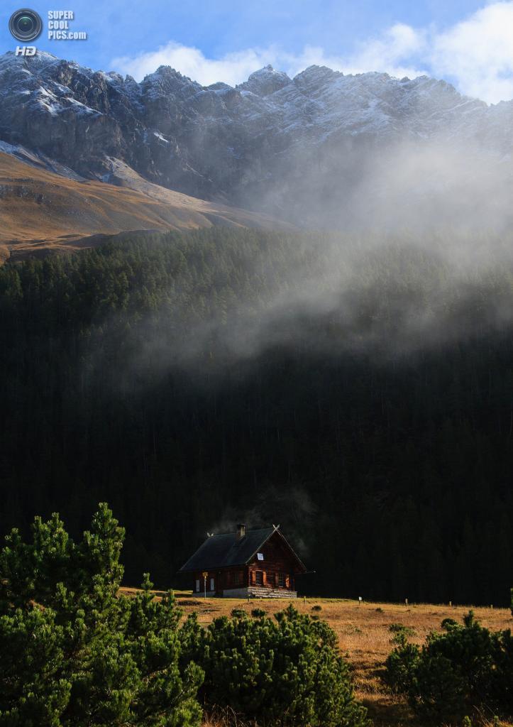 Швейцарский национальный парк. (Ewan)