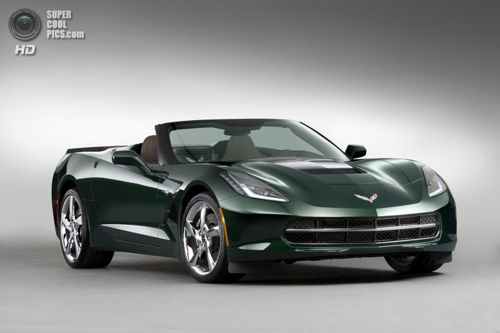 Chevrolet Corvette Stingray Premiere Edition Convertible. (General Motors)
