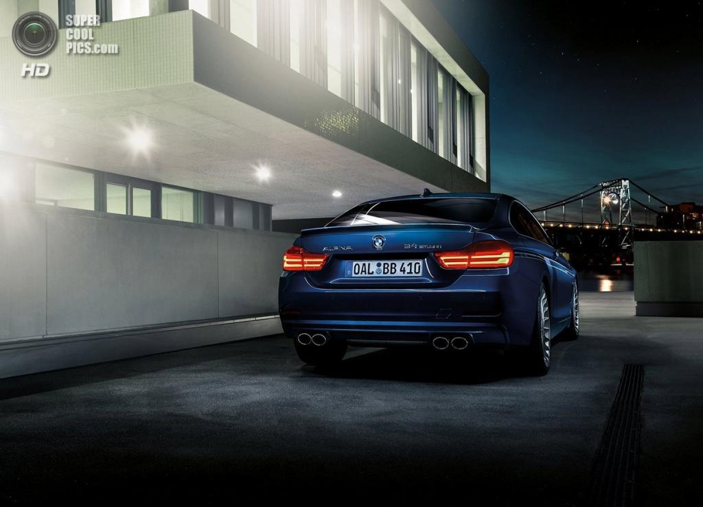 BMW ALPINA B4 Bi-Turbo Coupé. (Alpina Burkard Bovensiepen GmbH)