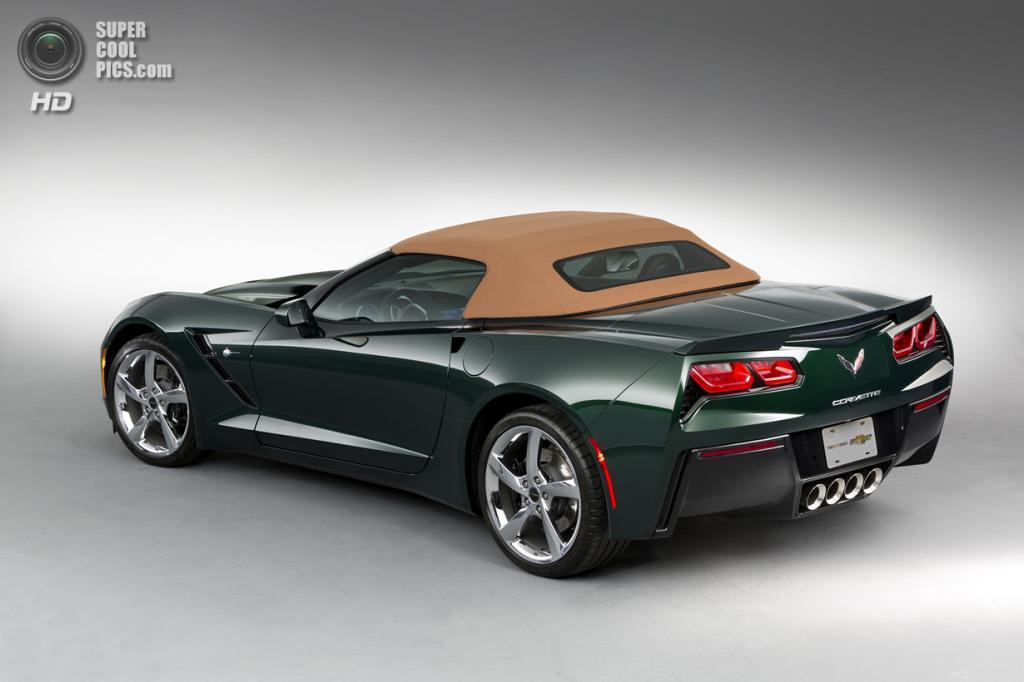 Chevrolet Corvette Stingray Premiere Edition Convertible. (General Motors)